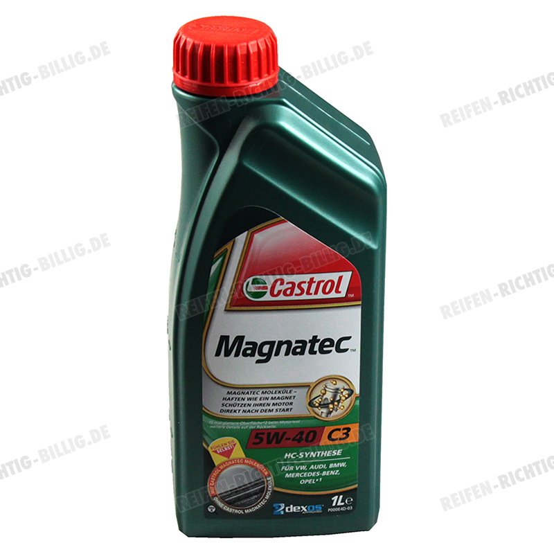 castrol magnatec c3 5w 40 1 liter g nstig kaufen auf. Black Bedroom Furniture Sets. Home Design Ideas